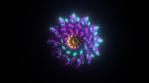Geo Circular Mandalian Glow 03