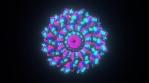 Geo Circular Mandalian Glow 04