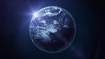 Beautiful HD Earth Planet Rotation Loop