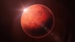 HD Mars Planet Rotation Loop