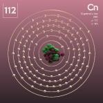 112 animated Classic Copernicium Element Orbit