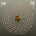 118 animated Classic Organesson Element Orbit