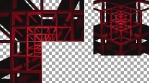 RED FRAME - Projection Mapped 3D Cube Content