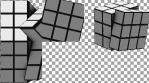 RUBIX CUBE - Projection Mapped 3D Cube Content