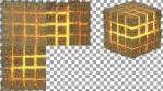SUBTLE GOLD - Projection Mapped 3D Cube Content