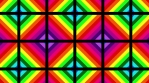 Rainbow cubes pattern