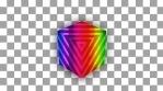 Glow cube pattern alpha
