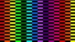 Rainbow Pattern Checkers Horizontal