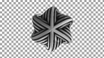 Dashed Twisted Torus Shape 01