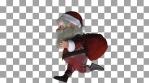 Christmas Runner VJ Loop