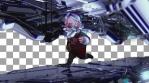 Christmas Robot Runner VJ Loop