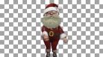 Christmas Swish Santa Claus Dancer VJ Loop