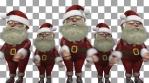 Swish Santa Claus Christmas Dancers VJ Loop
