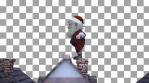 Santa Claus Parkour VJ Loop