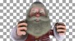 Santa Claus Boxer VJ Loop