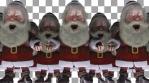 Sick Santa Clauses Army VJ Loop