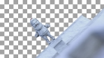 Santa Claus Snow Jumper VJ Loop