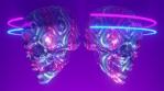 Gay Halloween Skulls Pride VJ Loop 1