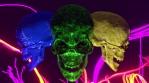 Gay Halloween Skulls Pride VJ Loop 2