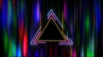 Neon Triangle in Hyper Space