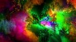 Glowing Art Background
