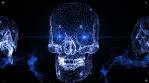Techno Skull VJ-Loop 2