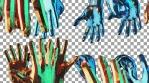 Hands Hanging 4