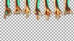 Hands Hanging