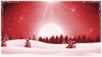 Christmas Landscape Background Loop