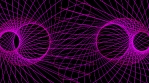 Pink Geometric Lines