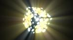 Gingerman cube with volumetric lights