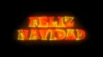 NEON TEXT FELIZ NAVIDAD 4k SPANISH ESPAÑOL