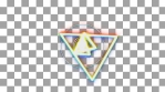 prisma color geometrical animation triangles and circles