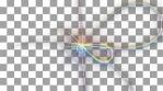 prisma color geometric animations pentagone and loop symbol