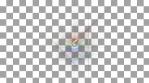 prisma color geometric animations pentagone and single line