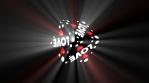 Love Cube volumetric lights