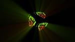 Love You Cube volumetric lights