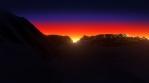 Sun Dawn Landscape 01