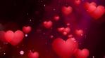 Romatic Valentines Hearts