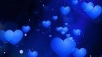 Blue Valentines Hearts