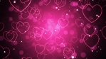 Pink Romantic Hearts