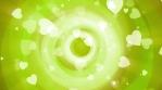 Green Valentine Circles