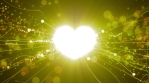Golden Power Love Particles