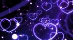Violet Love Forever Hearts