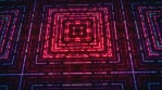 Abstract Digital Led Lights Technology Animation