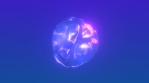 Stylised Bubble Ice Glow 010