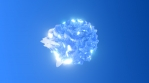 Stylised Bubble Ice Glow 06