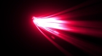 Abstract Glowing 3d Light Strokes Background