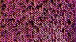 Neon Herringbone Wall
