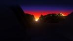 Sun Dawn Landscape 01 B